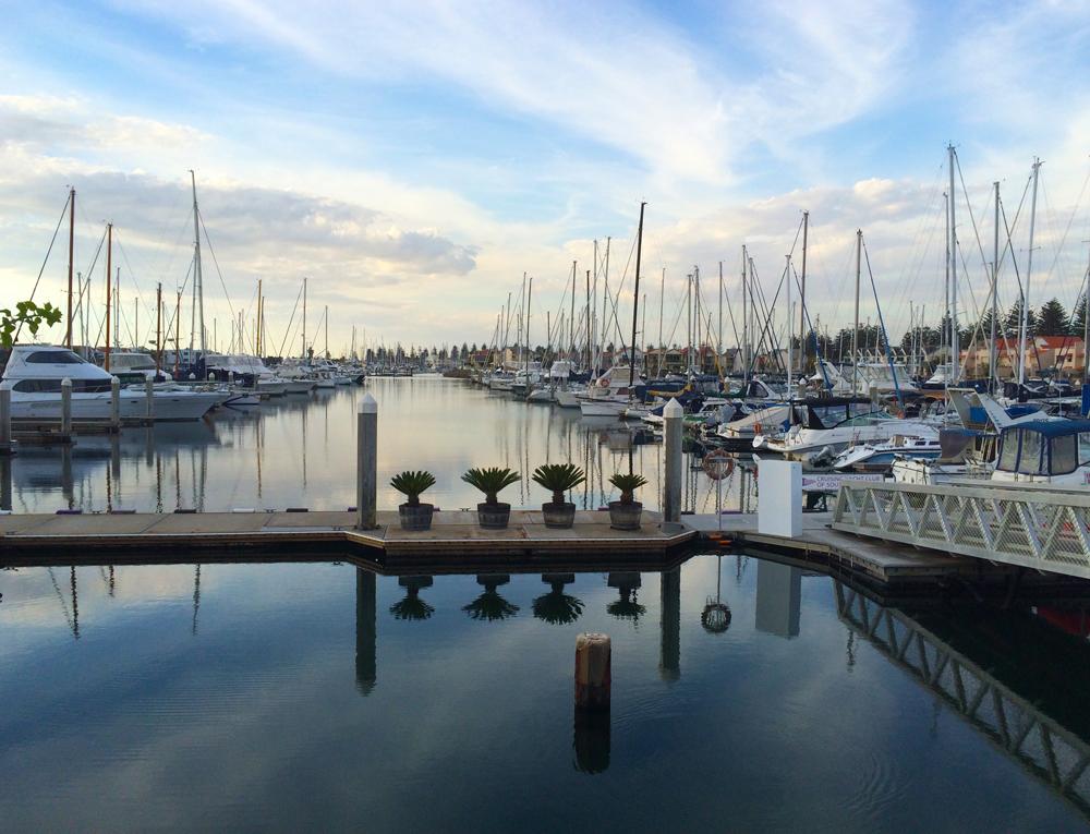 Mirrored Marina